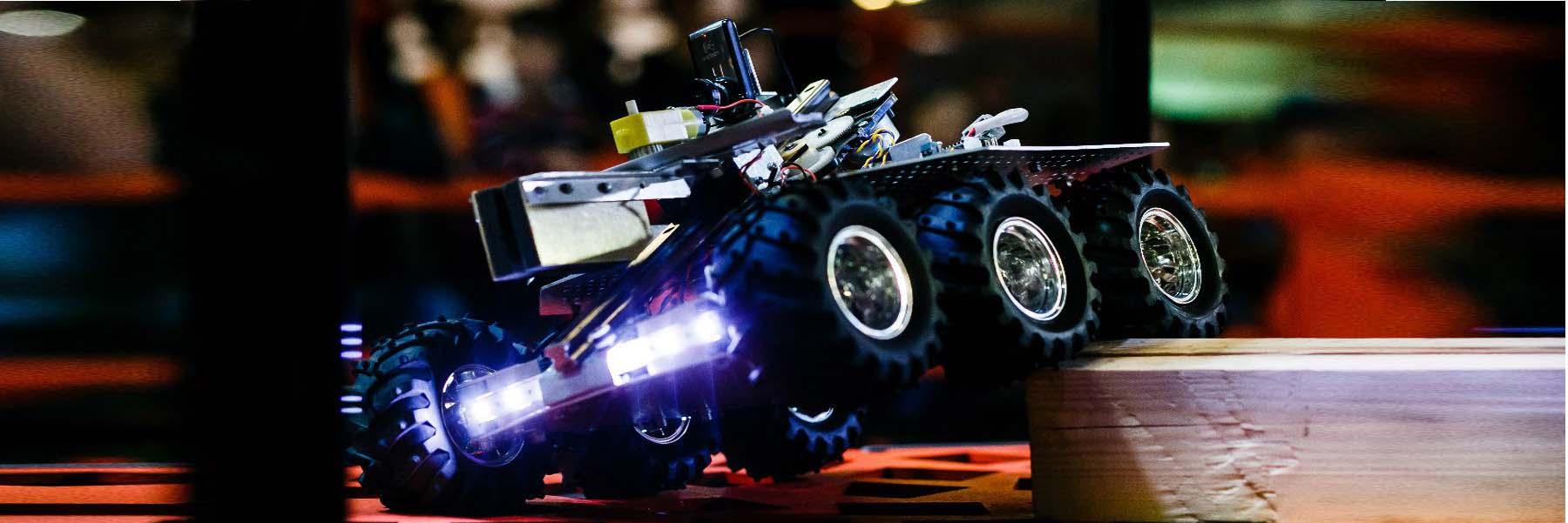 Разработка мобильных роботов